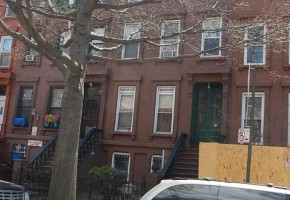 Brownstone For Sale in Bedford Stuyvesant, Brooklyn