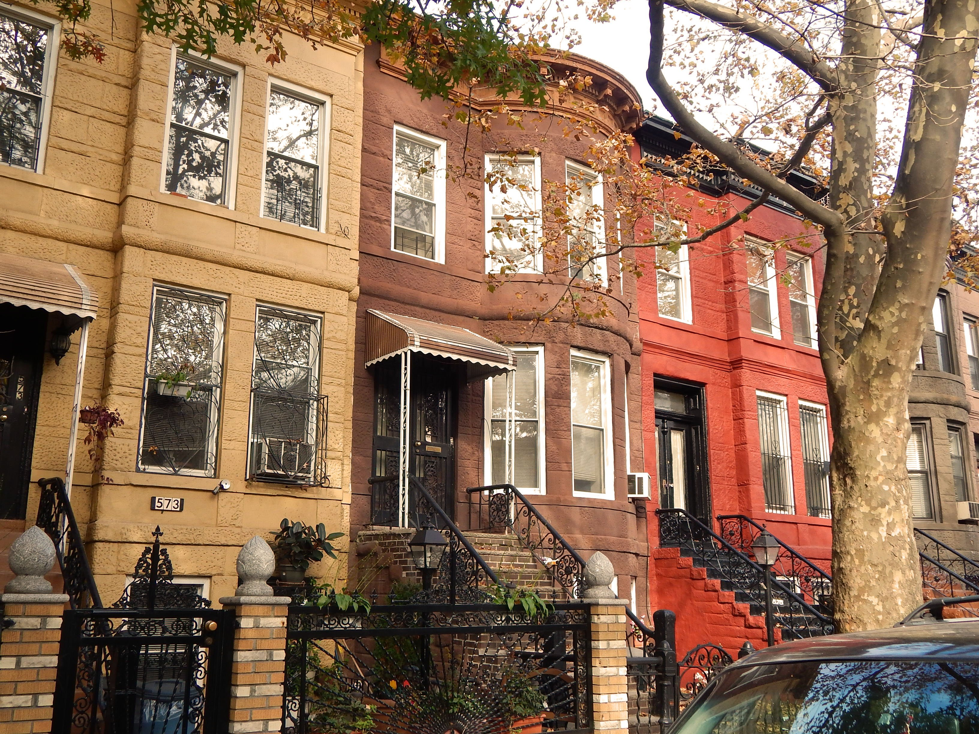 A brownstone row house searching for its second act for Brownstone house plans