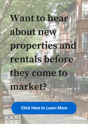 get our properties before they come to market
