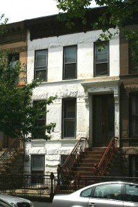 bed stuy brownstone row house on macon street