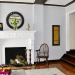 an impressive living room fireplace welcomes you home at 67 lefferts ave