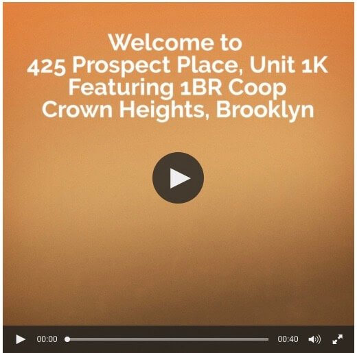 first look at 1BR Coop on Prospect Place in Crown Heights, Brooklyn CRG1092