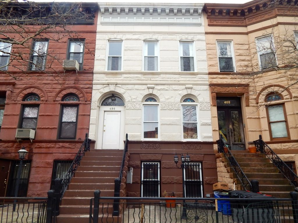 brownstone townhouse at 490 mac donough St in bed stuy crg1080