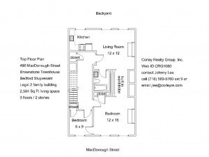 490 macdonough st top floor plan crg1080
