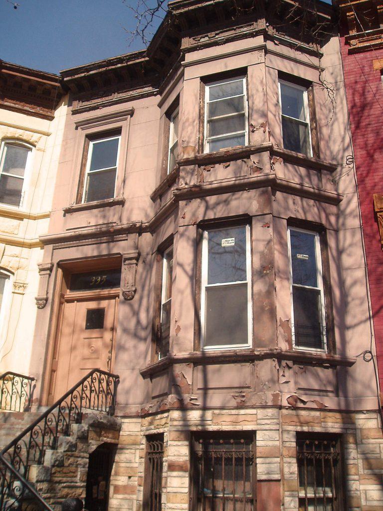 bainbridge st 2 family brownstone townhouse for sale bed stuy crg1006