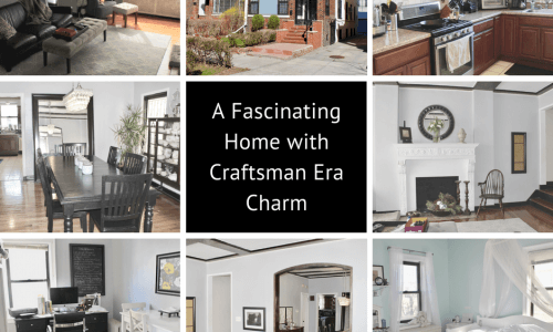 a fascinating home near lefferts manor with craftsman era charm