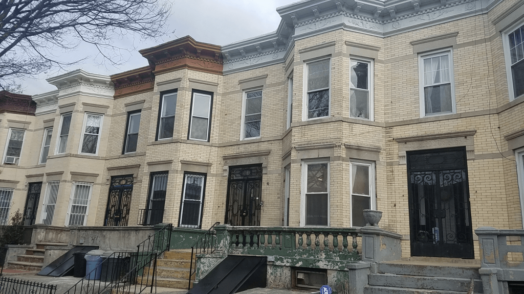 corley realty group sold 201 sterling st townhouse in prospect lefferts gardens crg1093