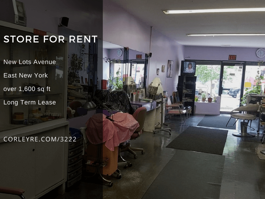 new lots ave store for rent in east new york brooklyn crg3222