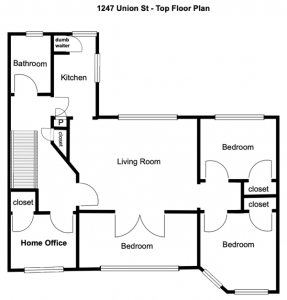 1247 union st crg1105 top floor plan